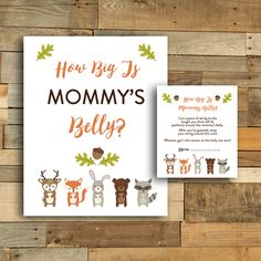 Free Baby Shower Printables | Printable Market Free Baby Shower Printables, Free Baby Shower Games, Belly Belly, Woodland Baby, Free Baby Stuff, Party, Fox, Friends, Amigos