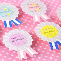 席札ロゼット/結婚式 席札 http://www.farbeco.jp/shopdetail/000000009073