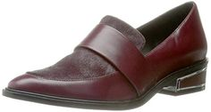 Rachel Zoe Womens Blanca SlipOn Loafer Wine 75 M US * Don't get left behind, see this great  product