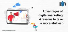 "The advantages of Digital Marketing are very broad. However, there is one that has a greater weight than any other: ""if you are not on the internet, you do not exist"". You just have to look it up online. To Read More, Click on the Image. . . #ranoliaventures #digitalmarketing #marketing #internet Software Development, Digital Marketing, Take That, Knowledge, Success, Internet, Technology, Reading, Image"