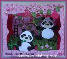 PK9135 Fleurique CR1355 Gras CR1374 Box Card Col1409 Eline's Panda beer Ec0147 Eline's Dutch sentime (cute-sweet-lovely) Exploding Boxes, Marianne Design, Animal Cards, Vintage Cards, Baby Kids, Minnie Mouse, Unicorn, Joy, Paper