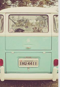 Mint VW combi