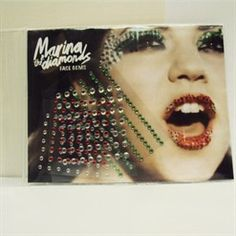 Marina  the Diamonds made face gems (£3). Apparently she had make-up on tour too.