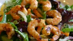 Fourth of July Grilled Shrimp with Greek Salad: Here's my favorite Fourth of July grilled meal. Actually it's my favorite summer grilled meal, period. It is sooo good and healthy and easy, you might want to give it a try.