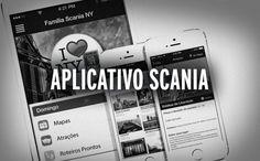 Aplicativo Mobile desenvolvido para a Scania disponível para plataforma Android e IOS.