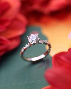 49 Utterly Gorgeous Engagement Ring Ideas ❤ engagement ring ideas diamond engagement ring ideas2 #weddingforward #wedding #bride