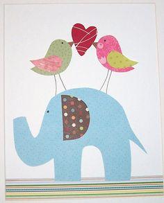 Nursery Art Decor Children's Room Art Kids Wall Art by vtdesigns, $14.00