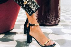 Stuart Weitzman shoes from Holt Renfrew; Alexander McQueen Clutch from Holt Renfrew. Alexander Mcqueen Clutch, Holt Renfrew, Party Wedding, Stuart Weitzman, Classic Style, Prom, Sandals, Heels, How To Wear