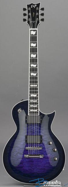 ESP Eclipse-II USA Reindeer Blue