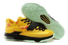 best cheap bb094 b4993 Find Nike KD 7 For Sale Custom Yellow Black Lastest online or in  Pumarihanna. Shop Top Brands and the latest styles Nike KD 7 For Sale  Custom Yellow Black ...