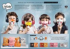 Clin Kids - Stories to Inhale Advertising Awards, Advertising Design, Corporate Communication, Concept Board, Game Concept, School Of Visual Arts, Child Face, Childrens Hospital, Stories For Kids