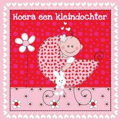 Felicitatiekaart Kleinkind, gemaakt door Patricia van Hulsentop