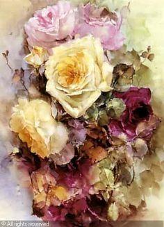 BISCHOFF Franz Arthur,Roses,Butterfield & Butterfield,San Francisco