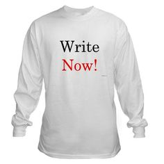 Write Now Long Sleeve T-Shirt