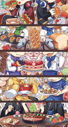 WHY DID U HIDE THEIR BEAUTIFUL NEET FACES (well at least we can see the foodl