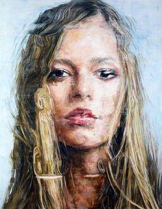 Striking Oil Portraits by Harding Meyer