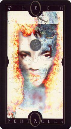 Vertigo Tarot: Queen of Pentacles