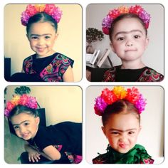 Frida kahlo costume Toddler Costumes, Family Costumes, Baby Costumes, First Halloween, Halloween Kids, Halloween Costumes, Frida Kahlo Party Decoration, Frida Kahlo Costume, Mexican Fiesta Party