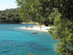 Paraskevi Beach, just north of Parga, Greece