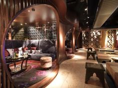 Spice Market, designed by owners and brothers Geremy and Dean Lucas, offers clientele a point of spectacular aesthetic difference