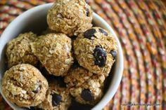 Finding Joy in My Kitchen: Pumpkin Oatmeal Chocolate Chip Cookie Dough Bites
