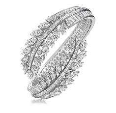 Feather Diamond Bracelet!