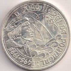 Motivseite: Münze-Europa-Südeuropa-Portugal-Escudo-1000.00-1995-João II