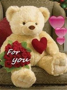 Happy Teddy Day 2018 Animated GIF Images