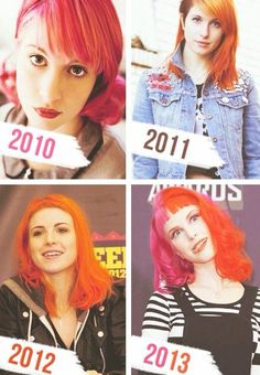 Hayley through the years