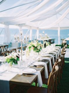 Flathead Lake, Montana Wedding - Greenwood Events www.greenwood.events || Photography: Jeremiah And Rachel Photography - jeremiahandrachel.com   Read More on SMP: http://www.stylemepretty.com/2015/10/13/romantic-bee-themed-lakeside-wedding-in-montana/