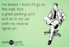 Not sure how many people in the parking lot would laugh, but *I* think it's funny.  LOL