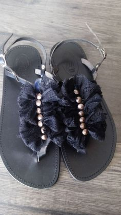 Handmade leather sandals designed by Elli lyraraki!!