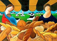 24x18 archival print  Bread     Baguettes    by WilliamCainFineArt, $75.00 http://www.etsy.com/shop/WilliamCainFineArt