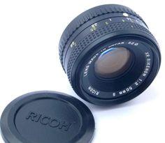 Ricoh XR Rikenon - S 50mm f/2 Standard Prime Lens Pentax K Bayonet - PK Mount