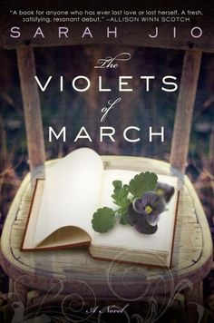 The Violets of March by Sarah Jio.  This book took me by surprise! Set in my part of the world, an island in Washington State, I could relate with the landscape and the story!
