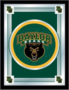 Baylor Bears Logo Mirror ✖️More Pins Like This One At FOSTERGINGER @ Pinterest✖️