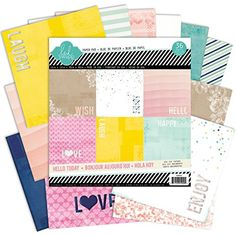 Heidi Swapp Hello Today 12x12 Lace Paper Pad * Find out more about the great product at the image link.Note:It is affiliate link to Amazon.