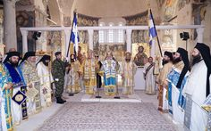 Πολυαρχιερατικό συλλείτουργο για την εορτή των Εισοδίων της Θεοτόκου στην Παλαιά Μητρόπολη Βεροίας