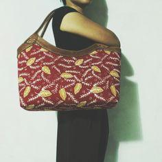 Ratih Red Tasikmalaya Batik Hobo Bag     #djokdjabatik