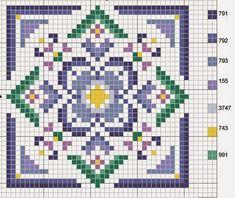 Hobby lavori femminili - ricamo - uncinetto - maglia: Schemi Quadri Punto Croce