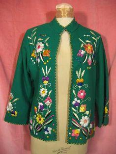 Vintage 50s Lopez Mexican Jacket at Robin Clayton Vintage