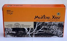 Greek chios mastic gum ( mastiha ) 50 gr box new