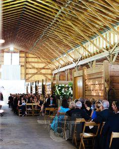 The Polo Barn at Saxony Farm for a Lexington, Kentucky Wedding. @mackme -- Photo by Mackler Studios, NYC