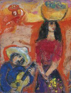 Marc Chagall - Sérénade mexicaine