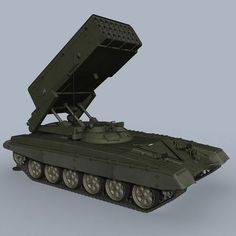 Russian TOS 1A Thermobaric MLRS