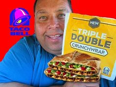 Taco Bell® Spicy Triple Double Crunchwrap REVIEW!