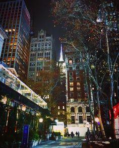 Always there watching you. #empirestatebuilding #nyc #empirestate #newyork #empirestateofmind #manhattan #newyorkcity #ny #bigapple #iloveny #instagood #night #picoftheday #landscape #usa #city #concretejungle #love #bryantpark #bryantparknyc #christmas #nightlife #midtown #thisisnewyorkcity