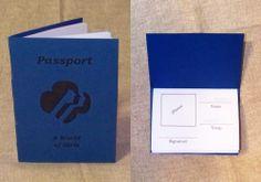 "Girl Scout Passport - Brownie ""A World of Girls"" Journey"