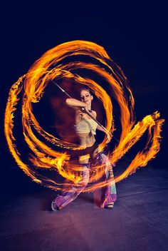 My experience as a fire-baton-twirler at Burning Man and other festivals in my younger days might surprise some folks... but then again, it might not.