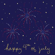 Hope everyone has a fabulous 4th of July weekend!